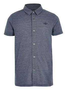 river-island-boys-blue-pique-textured-button-up-polo-shirt