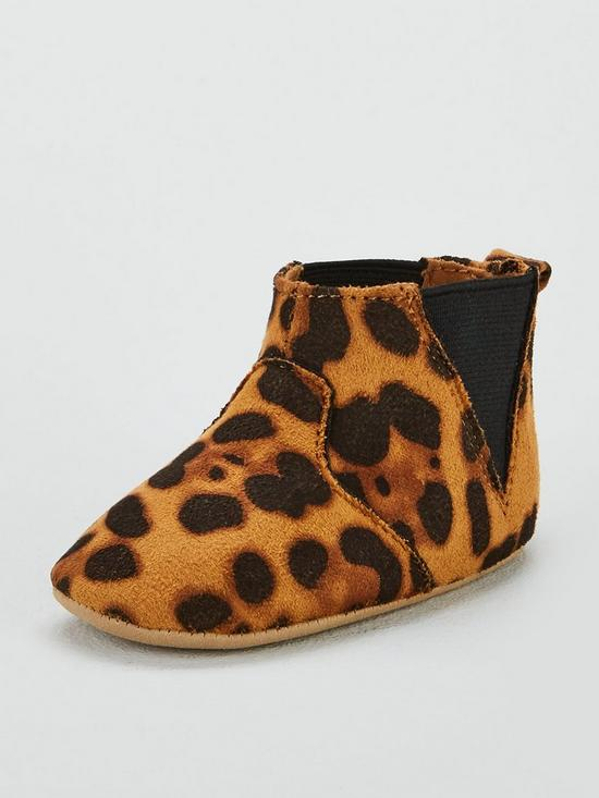 newest collection 99975 a1eae Jessica Baby Chelsea Boots - Leopard Print