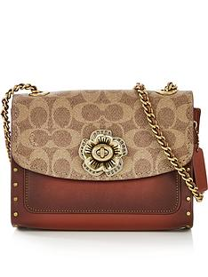 coach-parker-signature-print-studded-cross-body-bagnbsp-nbspbrowntan