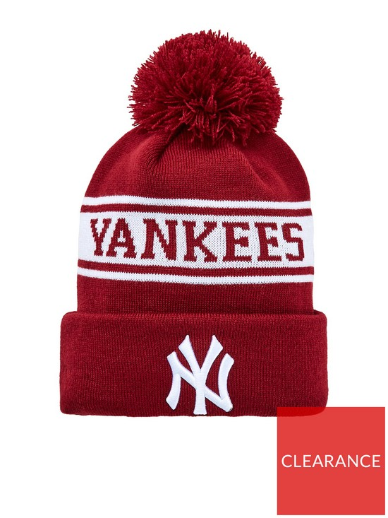 c7cba1409a8 New Era New Era New York Yankees Cuff Knit Bobble Hat