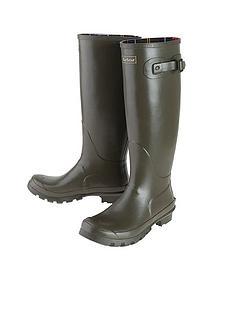 barbour-bede-wellington-boot-olive