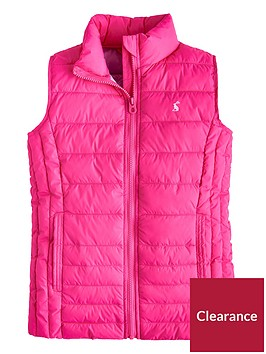joules-girls-croft-padded-giletnbsp--pink