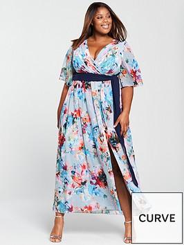 little-mistress-curve-chiffon-belted-midi-dress-floral-print