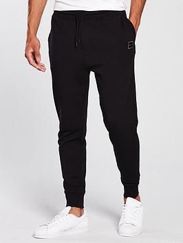 boss-cuffed-sweat-pants-black