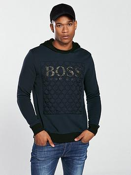 boss-casual-hooded-applique-sweat