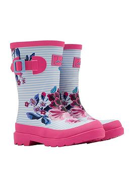 joules-girls-floral-wellies-stripefloral-print