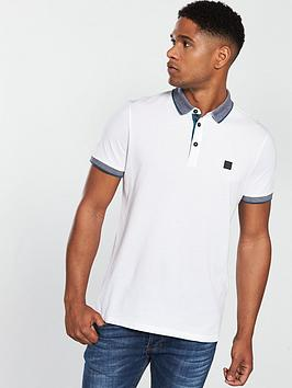 boss-contrast-collar-polo-shirt