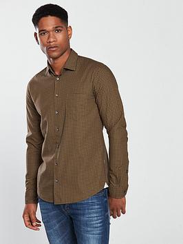 boss-casual-gingham-check-overshirt