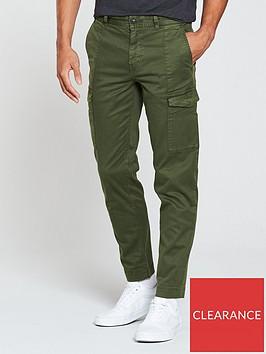 boss-slim-trousers-olive