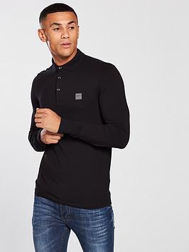 boss-casual-long-sleeve-slim-fit-polo-shirt-black