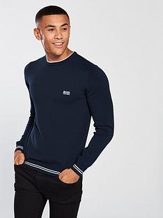 boss-athleisure-crew-neck-jumper