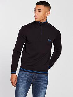 boss-half-zip-jumper