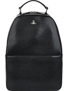 vivienne-westwood-mens-kent-leather-backpacknbsp--black