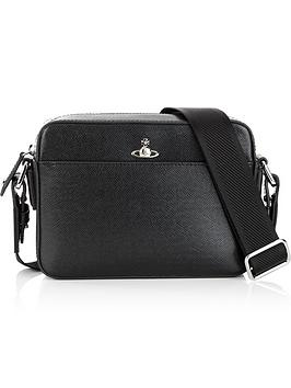vivienne-westwood-mens-kent-leather-cross-body-bagnbsp--black
