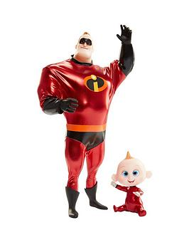disney-the-incredibles-incredibles-2-11inch-mr-incredible-and-jack-jack-action-doll