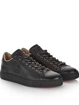 vivienne-westwood-mens-leather-logo-trainersnbsp--black