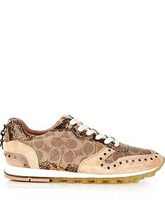 coach-c118-coated-signature-print-runner-trainersnbsp--tan