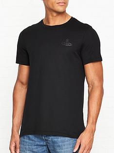 vivienne-westwood-classic-orb-logo-slim-fit-t-shirtnbsp--black