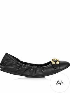 coach-stanton-signature-detailnbspballet-flat-shoes-black
