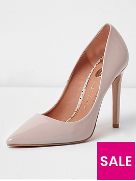 river-island-river-island-wide-fit-high-heel-court-shoes--nude