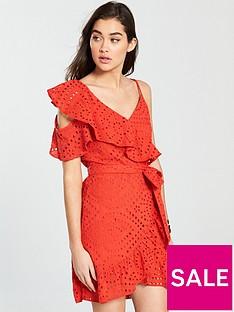 river-island-river-island-sleeveless-embroidered-waisted-dress-bright-orange