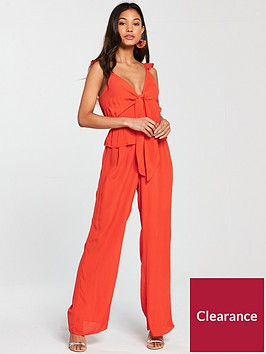 river-island-river-island-sleevelss-bow-front-jumpsuit-bright-red
