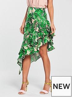 river-island-river-island-tropical-asymmetric-frill-skirt-multi