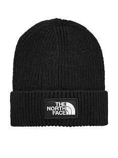 the-north-face-logo-box-cuffed-beanienbsp--black