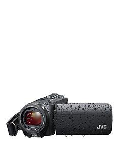 JVC GZ-R495 4Gb Memory HD Quad Proof 10MP 40x Zoom Camcorder - Black - Including Free Case for limited time only