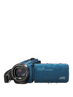 JVC GZ-R495 4Gb, Quad Proof, HD, 10MP, 40x Zoom Camcorder - Blue