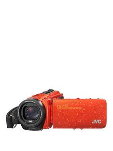 JVC GZ-R495 4Gb Memory, Quad Proof, 10MP, HD, 40x Zoom Camcorder - Orange - Including Free Case for limited time only