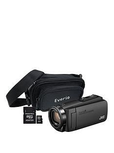 JVC GZ-R495 4Gb Quad Proof HD Camcorder with 32Gb SD Card and Carry Case - Black