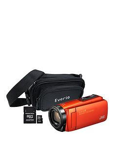 JVC GZ-R495 4Gb Quad Proof HD Camcorder with 32Gb SD Card and Carry Case - Orange