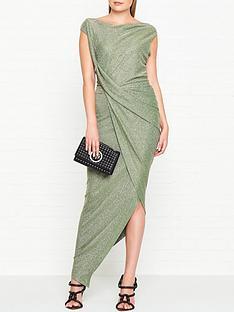 vivienne-westwood-anglomania-viannbspjersey-drape-dress-green