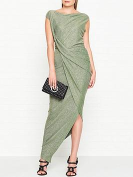 vivienne-westwood-anglomania-viannbspjersey-drape-dress-green