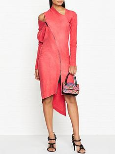 vivienne-westwood-anglomania-zipper-timans-dress-red