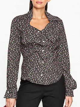 vivienne-westwood-anglomania-alcoholic-cotton-flower-ruffle-shirt-black-multi