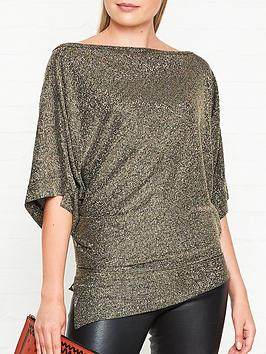 vivienne-westwood-anglomania-infinity-glitter-jersey-top--nbspgold