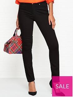 vivienne-westwood-anglomania-high-waisted-slim-denim-jeans-black