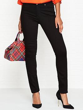 vivienne-westwood-anglomania-high-waisted-slim-denim-jeans-black