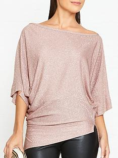 vivienne-westwood-anglomania-infinity-glitter-jersey-top-light-pink
