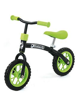hauck-e-z-rider-learning-bike-green