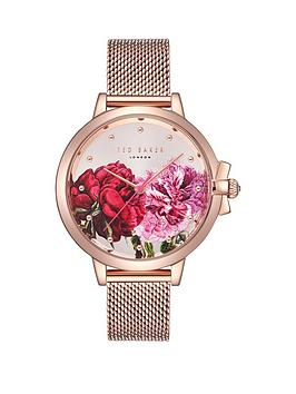 ted-baker-ruth-palace-gardens-floral-print-dial-rose-gold-stainless-steel-mesh-bracelet-ladies-watch