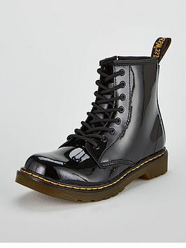 dr-martens-girls-1460-patent-boots-black