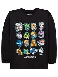minecraft-boys-long-sleeved-tee