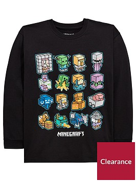 minecraft-boys-long-sleeved-tee