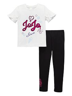 jojo-siwa-girls-frill-top-and-legging-set-white