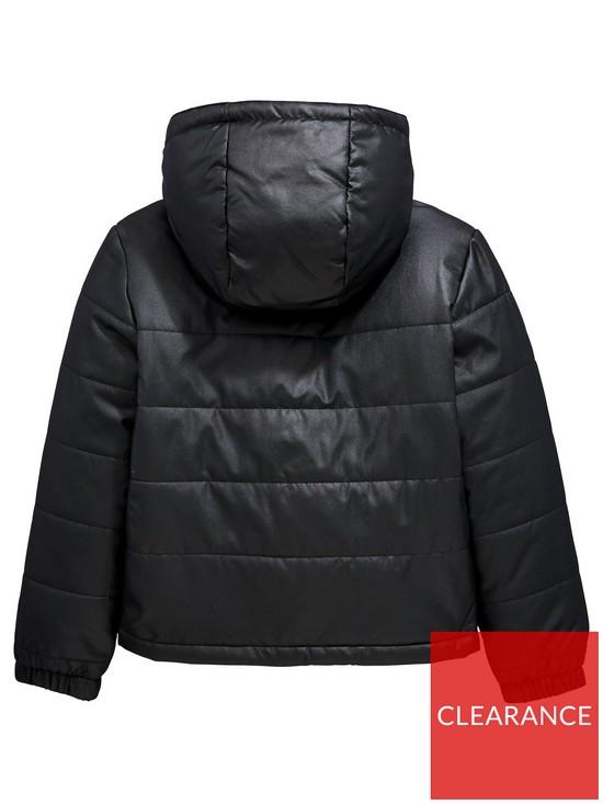 0f9e31eec Lacoste Sports Boys Hooded Padded Jacket
