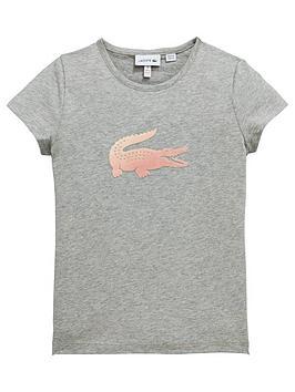 lacoste-girls-short-sleeve-croc-t-shirt