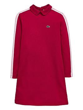 lacoste-girls-long-sleeve-polo-dress